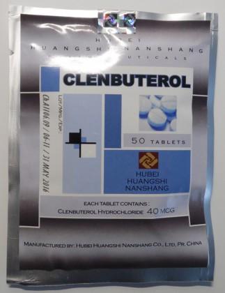 Clenbuterol Hubei (50 tab)