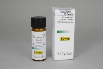 Clomifeencitraat Genesis (50 tab)